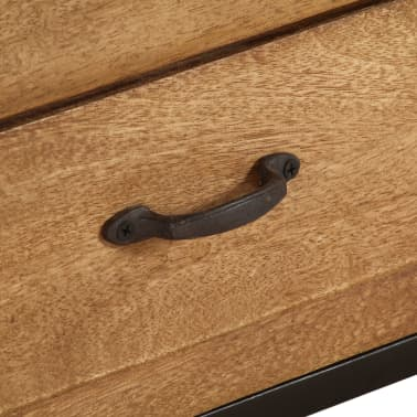 "vidaXL TV Cabinet Solid Mango Wood 55.1""x11.8""x15.7""[9/17]"