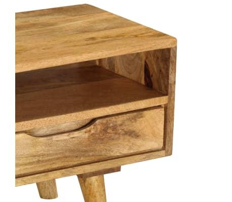 "vidaXL TV Cabinet Solid Mango Wood 55.1""x11.8""x16.1""[6/13]"