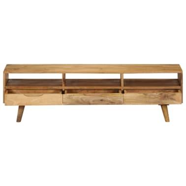"vidaXL TV Cabinet Solid Mango Wood 55.1""x11.8""x16.1""[2/13]"