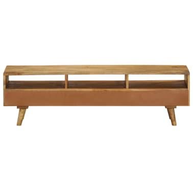 "vidaXL TV Cabinet Solid Mango Wood 55.1""x11.8""x16.1""[3/13]"