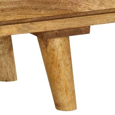 "vidaXL TV Cabinet Solid Mango Wood 55.1""x11.8""x16.1""[7/13]"