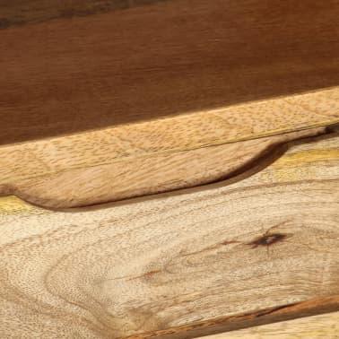 "vidaXL TV Cabinet Solid Mango Wood 55.1""x11.8""x16.1""[8/13]"