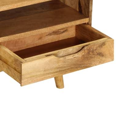 "vidaXL TV Cabinet Solid Mango Wood 55.1""x11.8""x16.1""[9/13]"