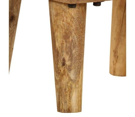 "vidaXL Bedside Cabinet Solid Mango Wood 15.7""x11.8""x23.4""[11/16]"
