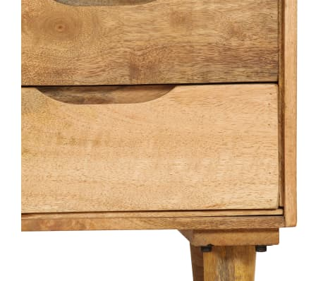 "vidaXL Bedside Cabinet Solid Mango Wood 15.7""x11.8""x23.4""[9/16]"