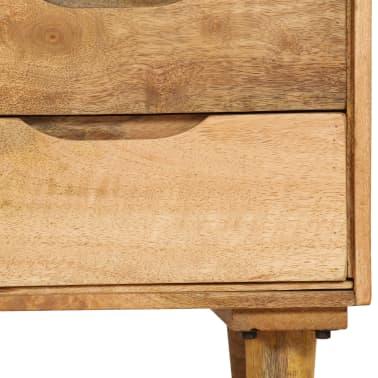 "vidaXL Bedside Cabinet Solid Mango Wood 15.7""x11.8""x23.4""[8/16]"