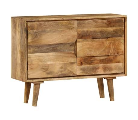 """vidaXL Sideboard Solid Mango Wood 35.4""""x15.7""""x27.2""""[4/19]"""
