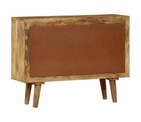"""vidaXL Sideboard Solid Mango Wood 35.4""""x15.7""""x27.2""""[6/19]"""