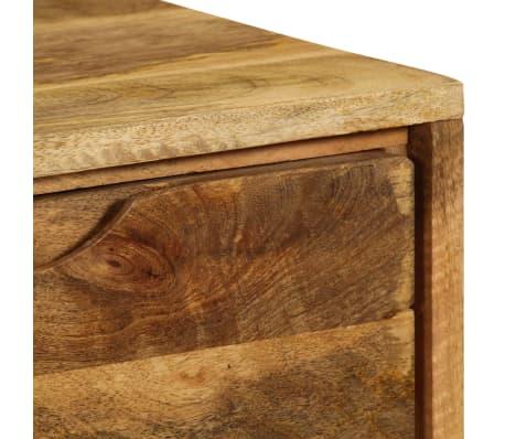 """vidaXL Sideboard Solid Mango Wood 35.4""""x15.7""""x27.2""""[10/19]"""