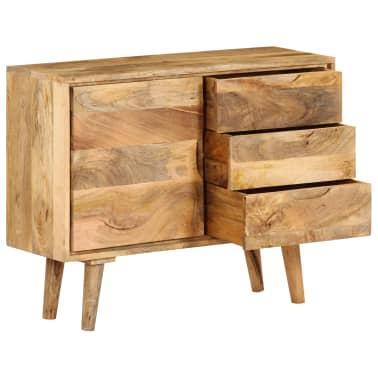 """vidaXL Sideboard Solid Mango Wood 35.4""""x15.7""""x27.2""""[2/19]"""