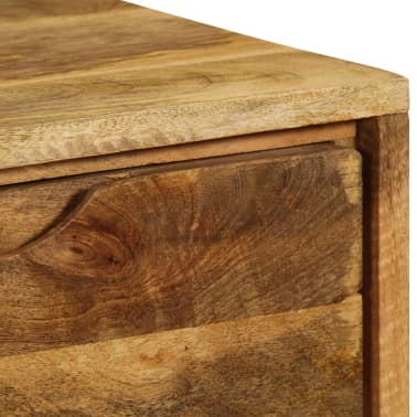 """vidaXL Sideboard Solid Mango Wood 35.4""""x15.7""""x27.2""""[11/19]"""