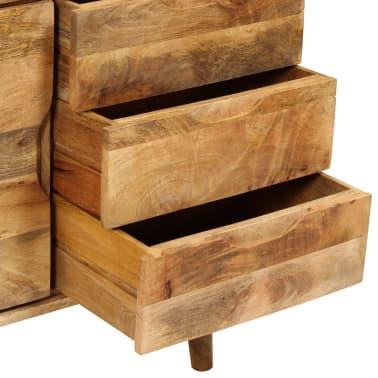 """vidaXL Sideboard Solid Mango Wood 35.4""""x15.7""""x27.2""""[12/19]"""