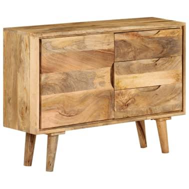 """vidaXL Sideboard Solid Mango Wood 35.4""""x15.7""""x27.2""""[16/19]"""