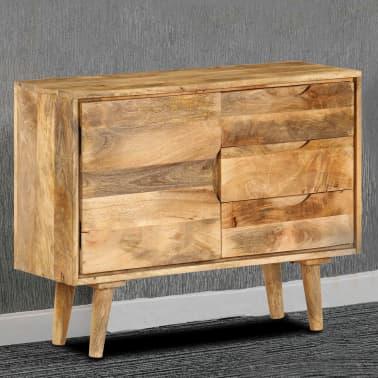"""vidaXL Sideboard Solid Mango Wood 35.4""""x15.7""""x27.2""""[18/19]"""