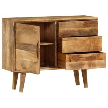 """vidaXL Sideboard Solid Mango Wood 35.4""""x15.7""""x27.2""""[5/19]"""