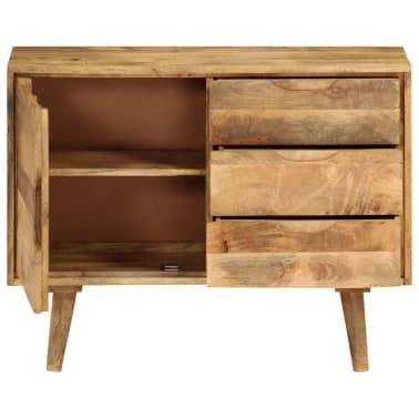 """vidaXL Sideboard Solid Mango Wood 35.4""""x15.7""""x27.2""""[7/19]"""