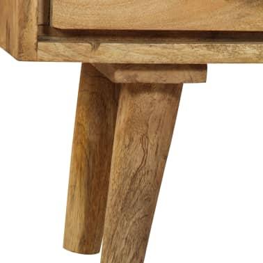 """vidaXL Sideboard Solid Mango Wood 35.4""""x15.7""""x27.2""""[8/19]"""