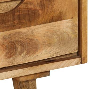 """vidaXL Sideboard Solid Mango Wood 35.4""""x15.7""""x27.2""""[9/19]"""