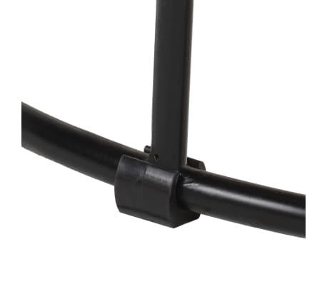 vidaXL Kavos staliukas, 50x40cm, mango medienos masyvas ir plienas[6/12]