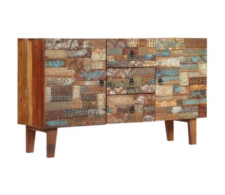 vidaXL Příborník 140 x 40 x 80 cm masivní recyklované dřevo[1/13]