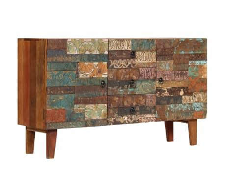 vidaXL Příborník 140 x 40 x 80 cm masivní recyklované dřevo[11/13]