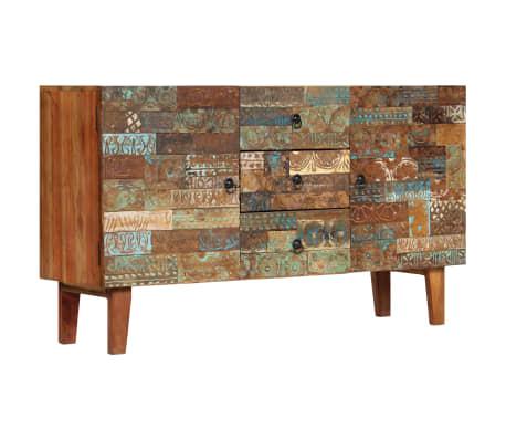 vidaXL Příborník 140 x 40 x 80 cm masivní recyklované dřevo[13/13]