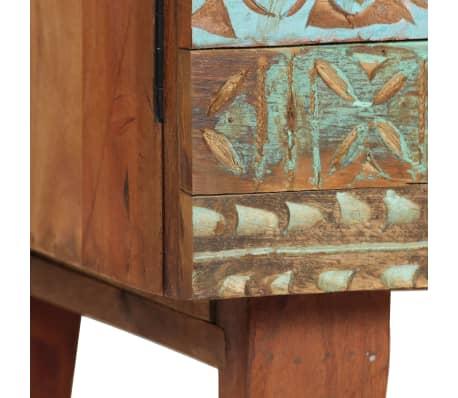 vidaXL Příborník 140 x 40 x 80 cm masivní recyklované dřevo[4/13]