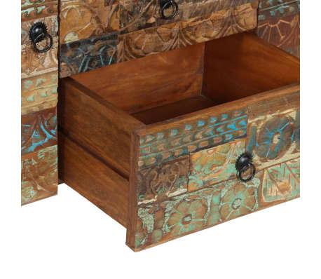 vidaXL Příborník 140 x 40 x 80 cm masivní recyklované dřevo[5/13]