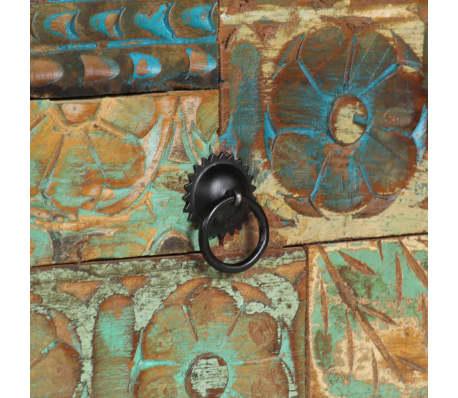 vidaXL Příborník 140 x 40 x 80 cm masivní recyklované dřevo[7/13]