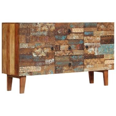 vidaXL Příborník 140 x 40 x 80 cm masivní recyklované dřevo[12/13]