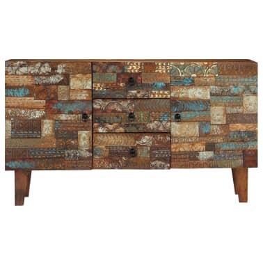 vidaXL Příborník 140 x 40 x 80 cm masivní recyklované dřevo[3/13]