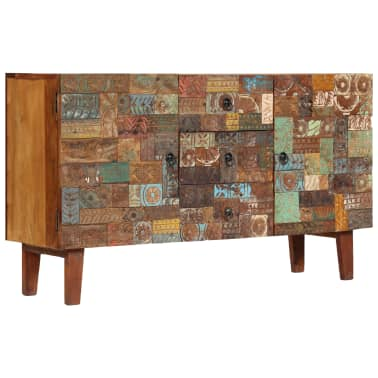 vidaXL Příborník 140 x 40 x 80 cm masivní recyklované dřevo[10/13]