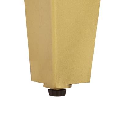vidaXL Szafka nocna, 45x35x48 cm, lite drewno mango i żeliwo[6/12]