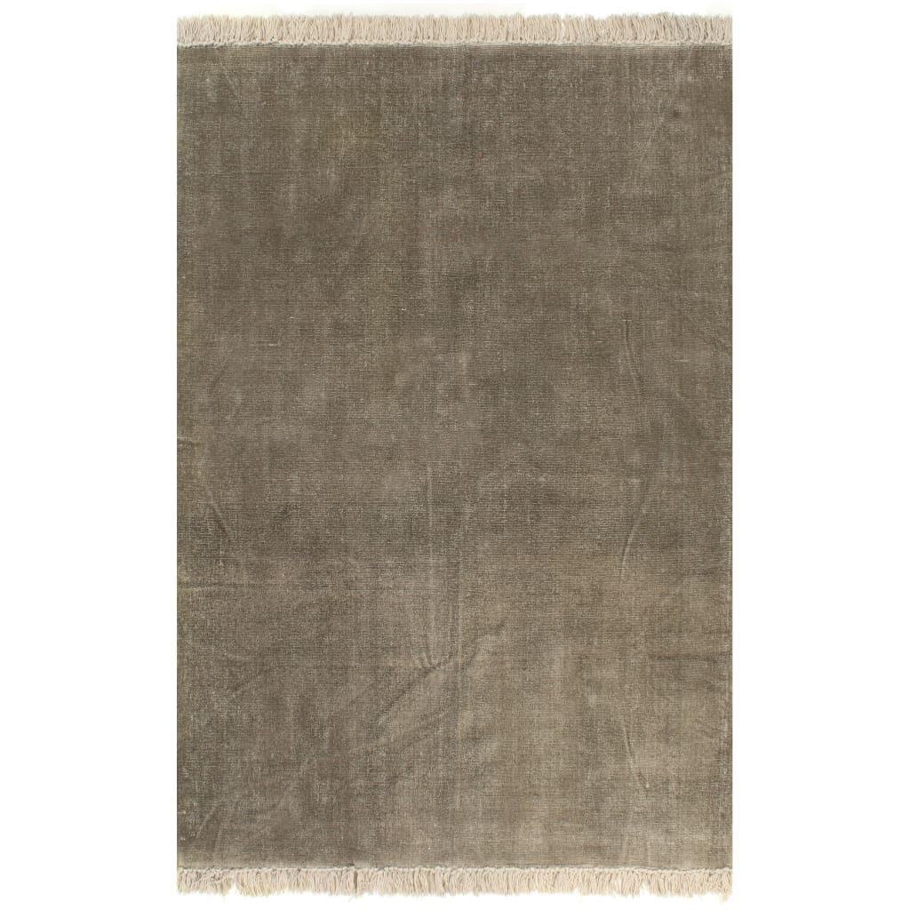 Kilim vaip, puuvill 160 x 230 cm, pruunikashall