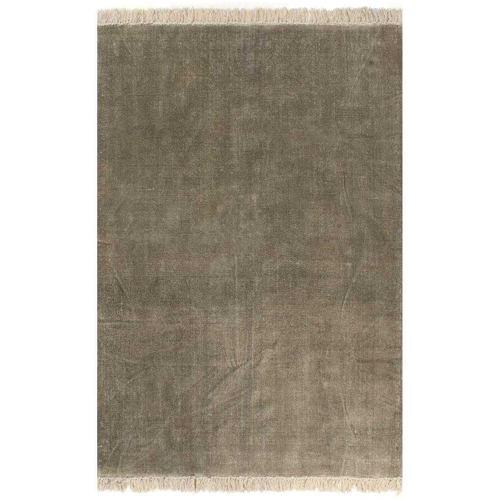 Kilim vaip, puuvill 200 x 290 cm, pruunikashall