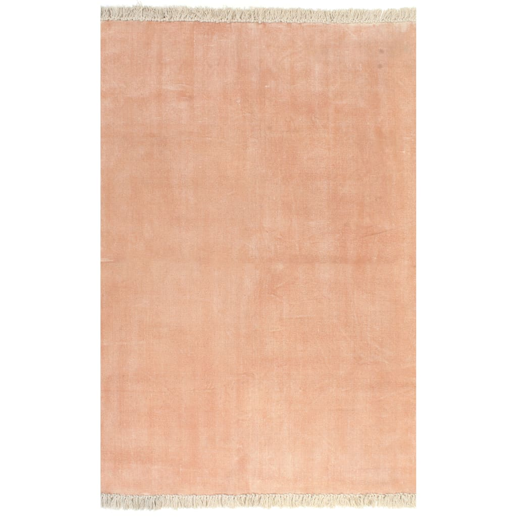 Kilim vaip, puuvill 120 x 180 cm, roosa