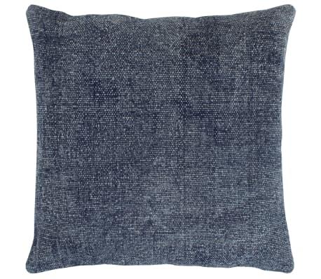 vidaXL Kelim kussens handgemaakt 45x45 cm blauw 2 st[2/5]
