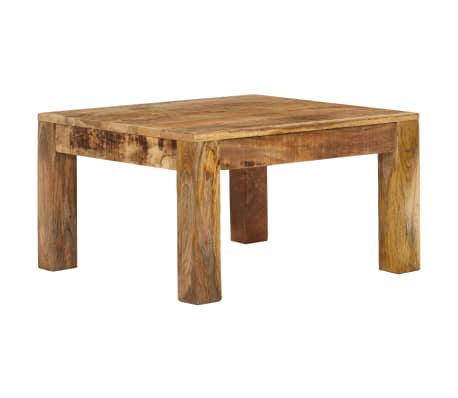 vidaXL Kavos staliukas, 60x60x35 cm, mango medienos masyvas[1/12]