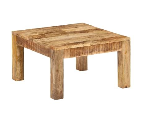 vidaXL Kavos staliukas, 60x60x35 cm, mango medienos masyvas[2/12]