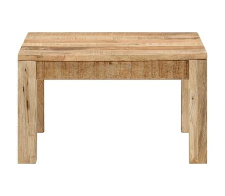 vidaXL Kavos staliukas, 60x60x35 cm, mango medienos masyvas[3/12]