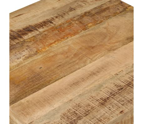 vidaXL Kavos staliukas, 60x60x35 cm, mango medienos masyvas[7/12]