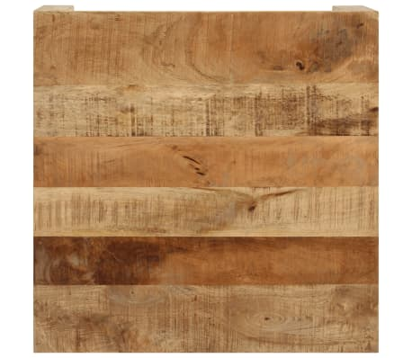 vidaXL Kavos staliukas, 60x60x35 cm, mango medienos masyvas[8/12]