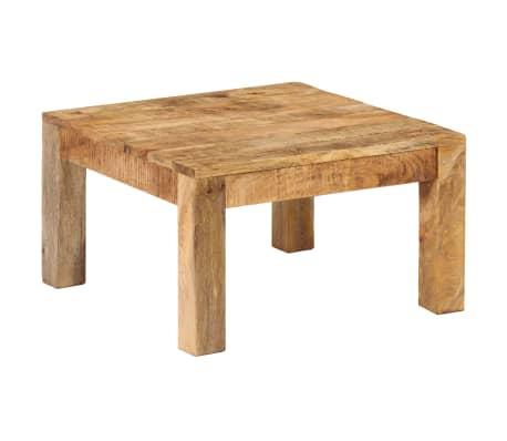 vidaXL Kavos staliukas, 60x60x35 cm, mango medienos masyvas[10/12]