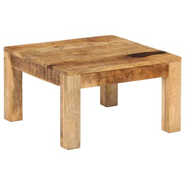 vidaXL Kavos staliukas, 60x60x35 cm, mango medienos masyvas[11/12]