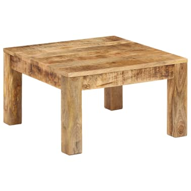vidaXL Kavos staliukas, 60x60x35 cm, mango medienos masyvas[12/12]