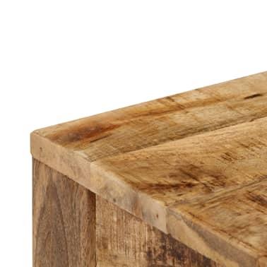 vidaXL Kavos staliukas, 60x60x35 cm, mango medienos masyvas[4/12]