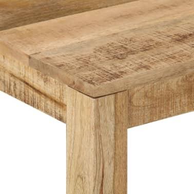 vidaXL Kavos staliukas, 60x60x35 cm, mango medienos masyvas[5/12]