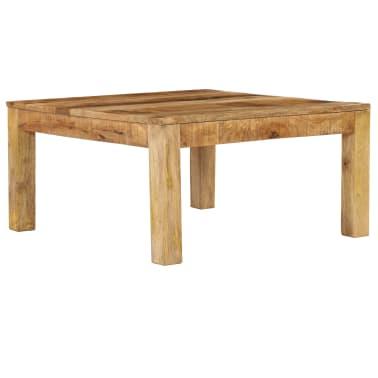 vidaXL Konferenční stolek 80 x 80 x 40 cm masivní mangovníkové dřevo[1/13]