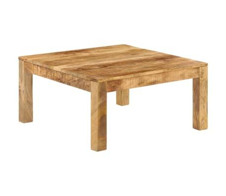 vidaXL Konferenční stolek 80 x 80 x 40 cm masivní mangovníkové dřevo[11/13]