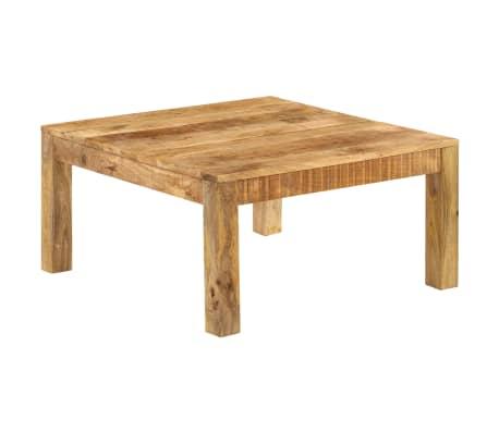 vidaXL Konferenční stolek 80 x 80 x 40 cm masivní mangovníkové dřevo[13/13]
